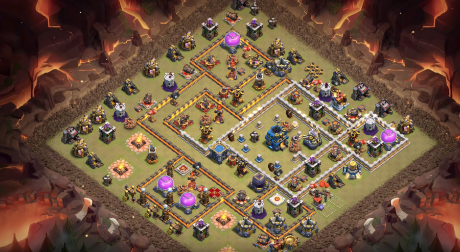 Base War Th 12 Anti Bat Spell 10
